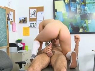 Kinky teacher makes schoolgirl fuck with him for worthwhile marks